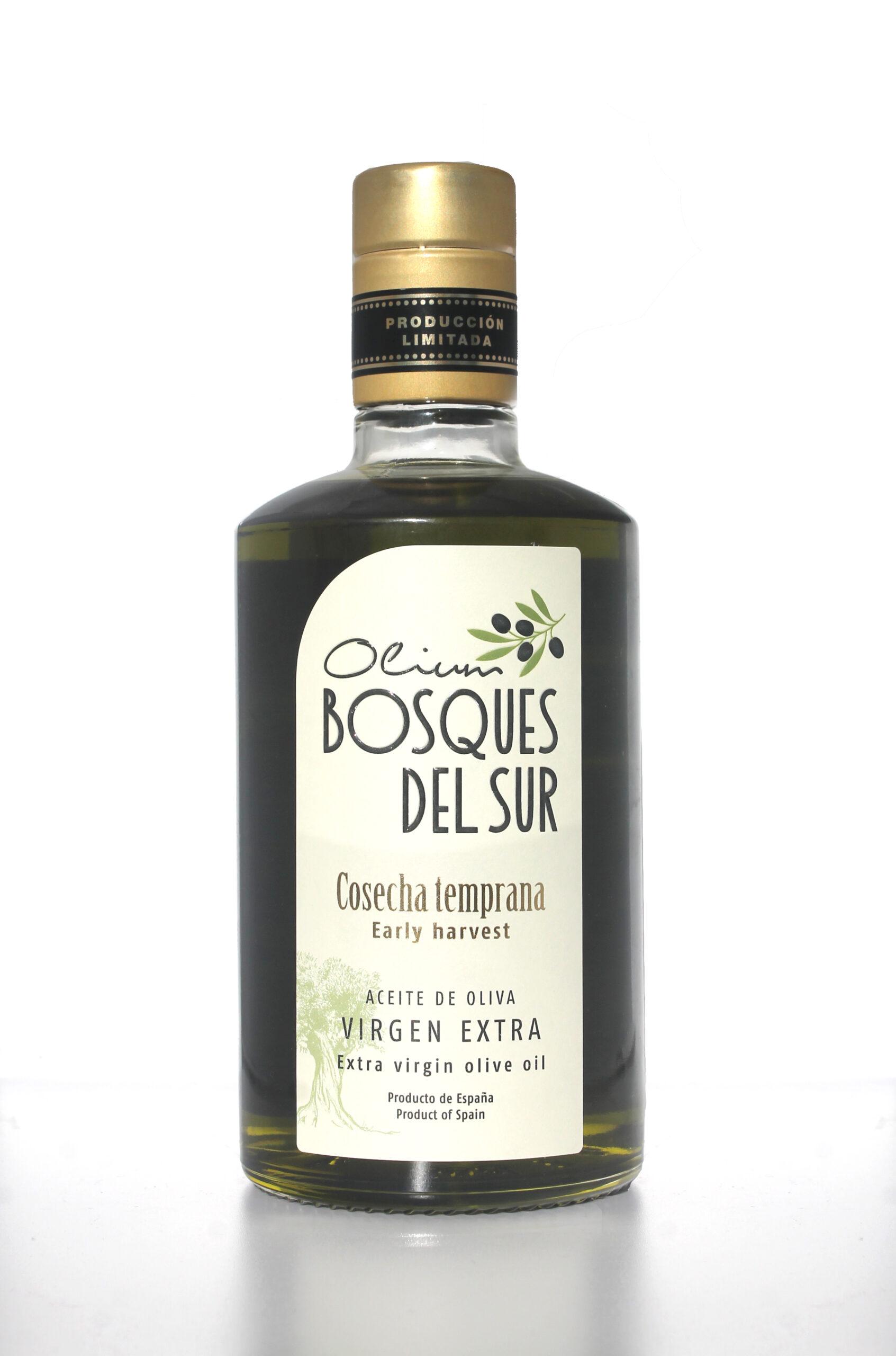 aceite de oliva virgen extra cosecha temprana
